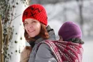Wintertragen bei Minusgraden